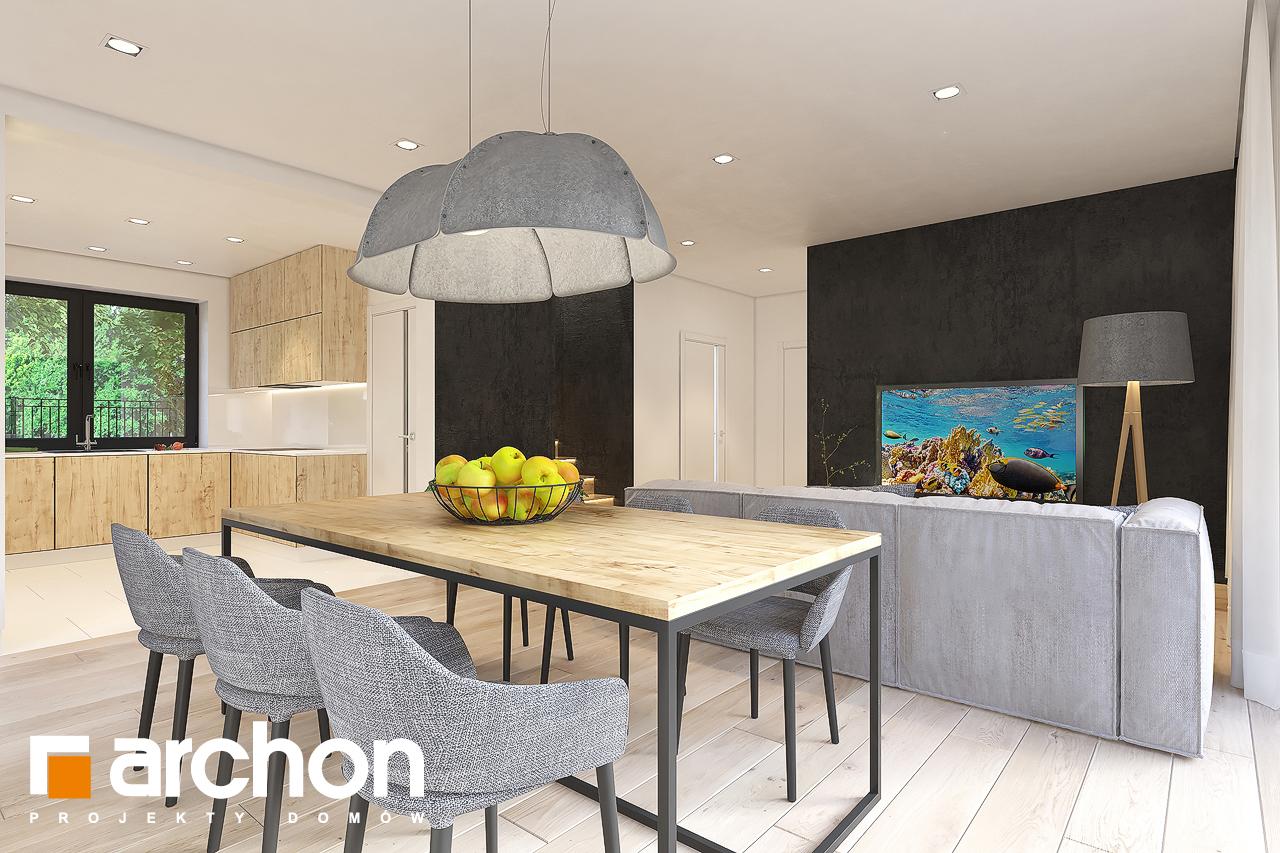 Проект будинку ARCHON+ Будинок в малинівці 11 денна зона (візуалізація 1 від 4)
