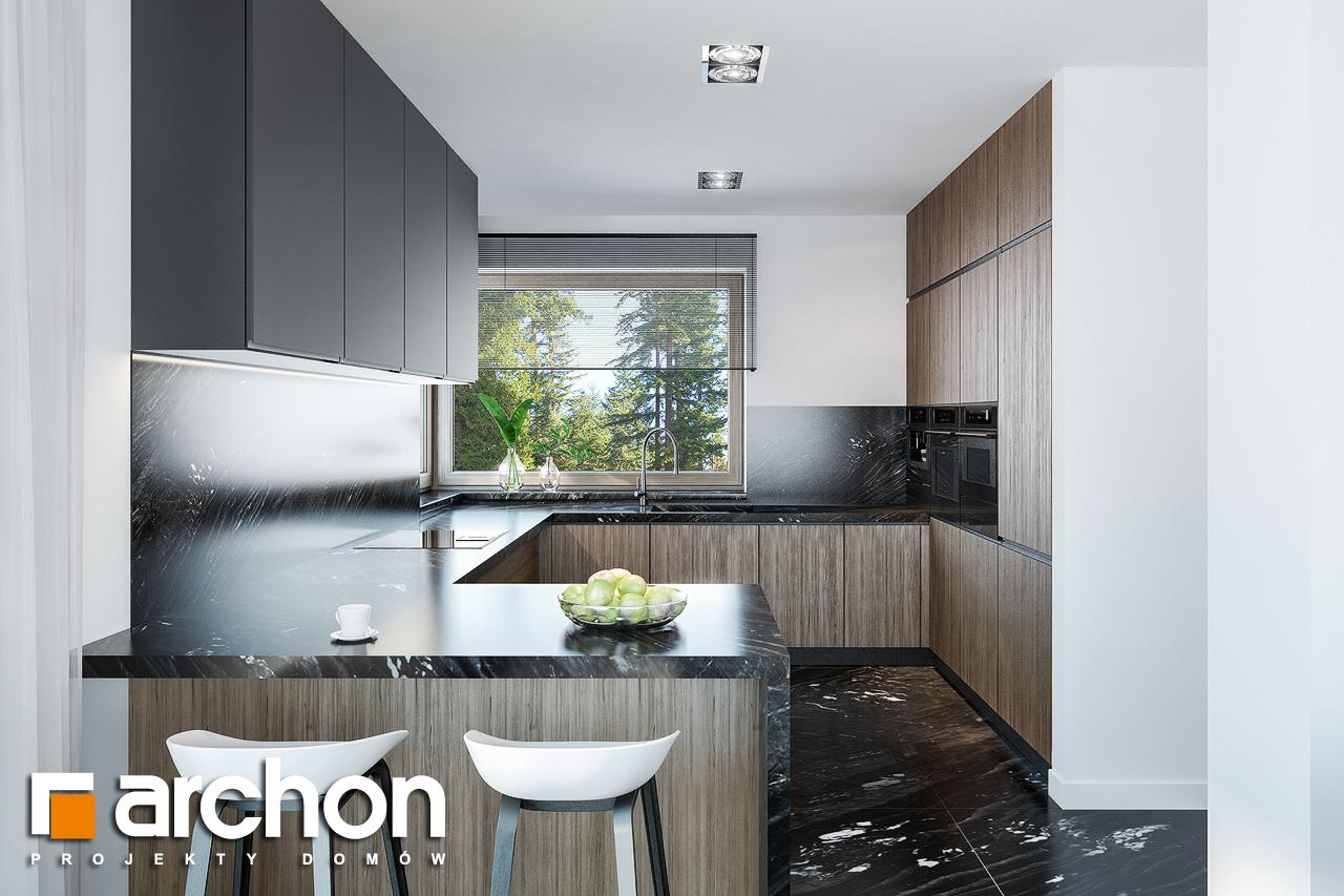 Проект будинку ARCHON+ Вілла Олівія 3 (Г2) візуалізація кухні 1 від 1
