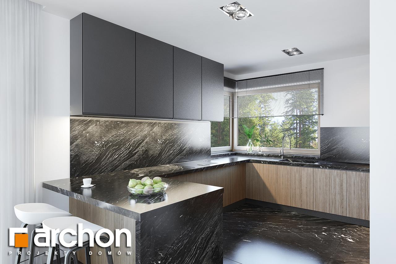 Проект будинку ARCHON+ Вілла Олівія 3 (Г2) візуалізація кухні 1 від 2