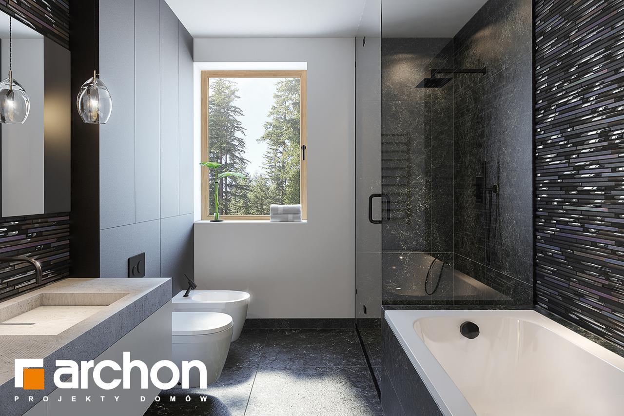 Проект будинку ARCHON+ Вілла Олівія 3 (Г2) візуалізація ванни (візуалізація 3 від 1)