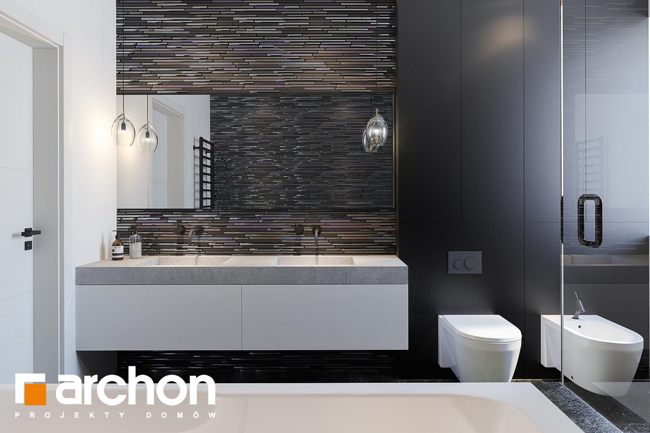 Проект будинку ARCHON+ Вілла Олівія 3 (Г2) візуалізація ванни (візуалізація 3 від 2)