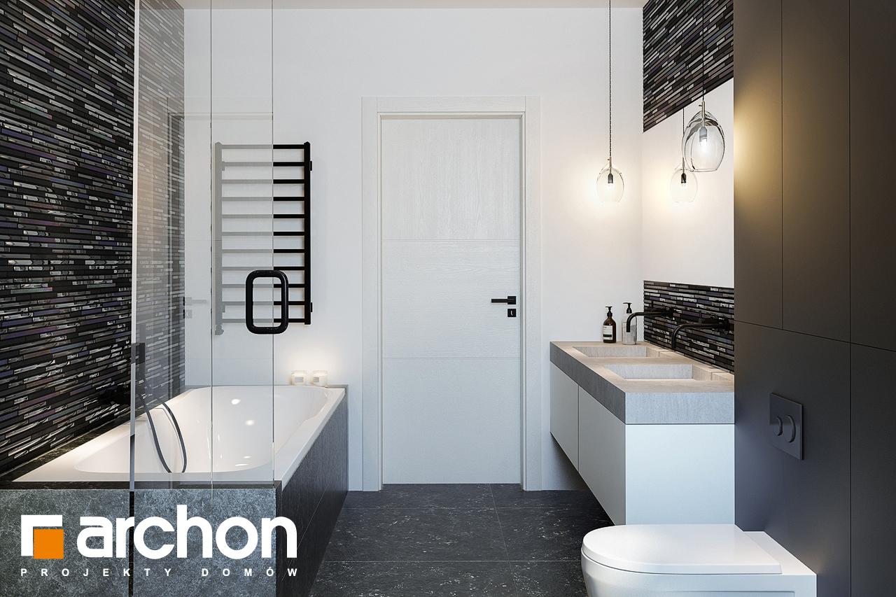 Проект будинку ARCHON+ Вілла Олівія 3 (Г2) візуалізація ванни (візуалізація 3 від 3)