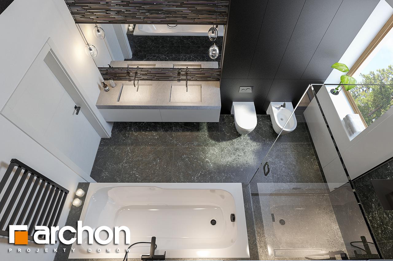 Проект будинку ARCHON+ Вілла Олівія 3 (Г2) візуалізація ванни (візуалізація 3 від 4)