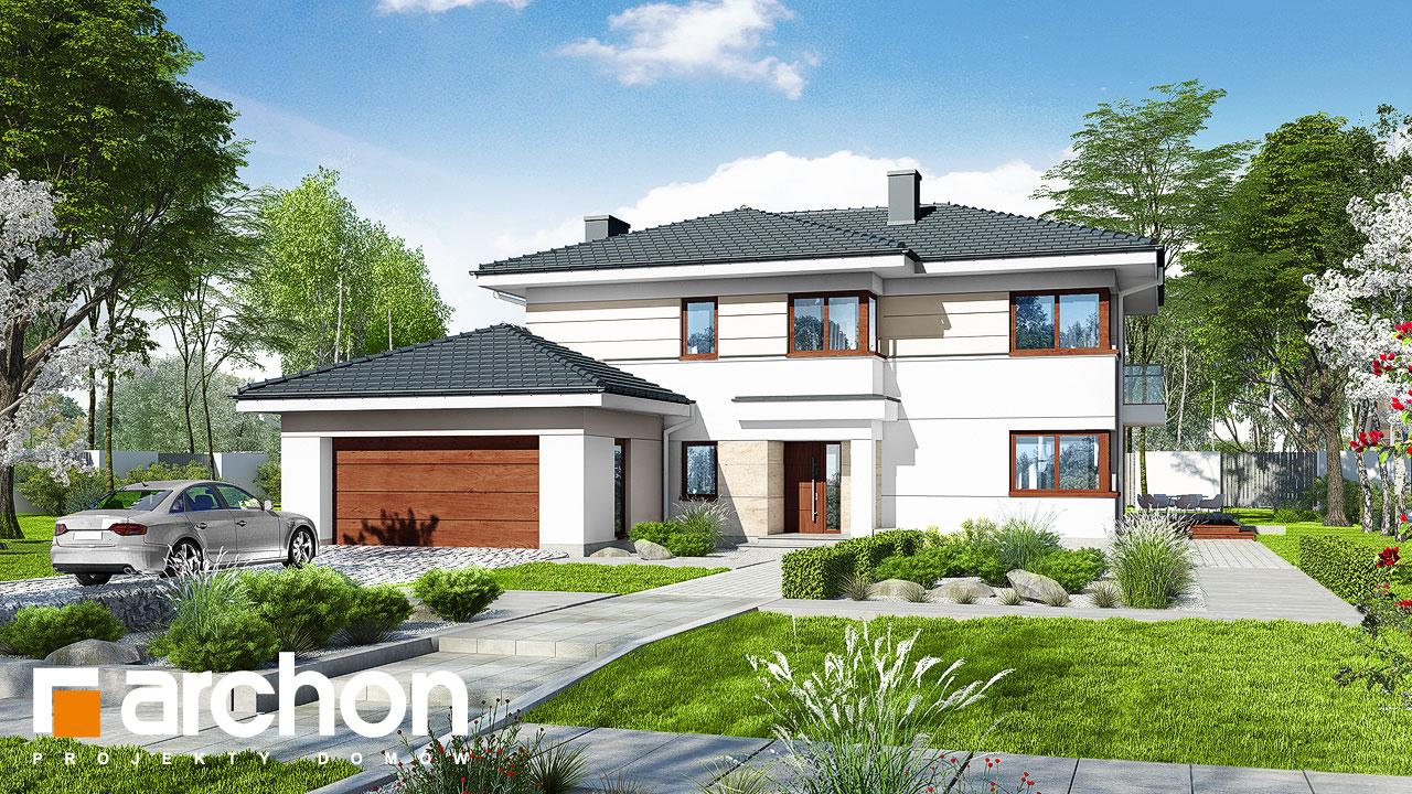Проект будинку ARCHON+ Вілла Олівія 3 (Г2) Вид 2