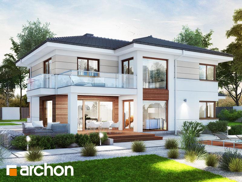 Проект будинку ARCHON+ Вілла Олівія 3 (Г2) Вид 1