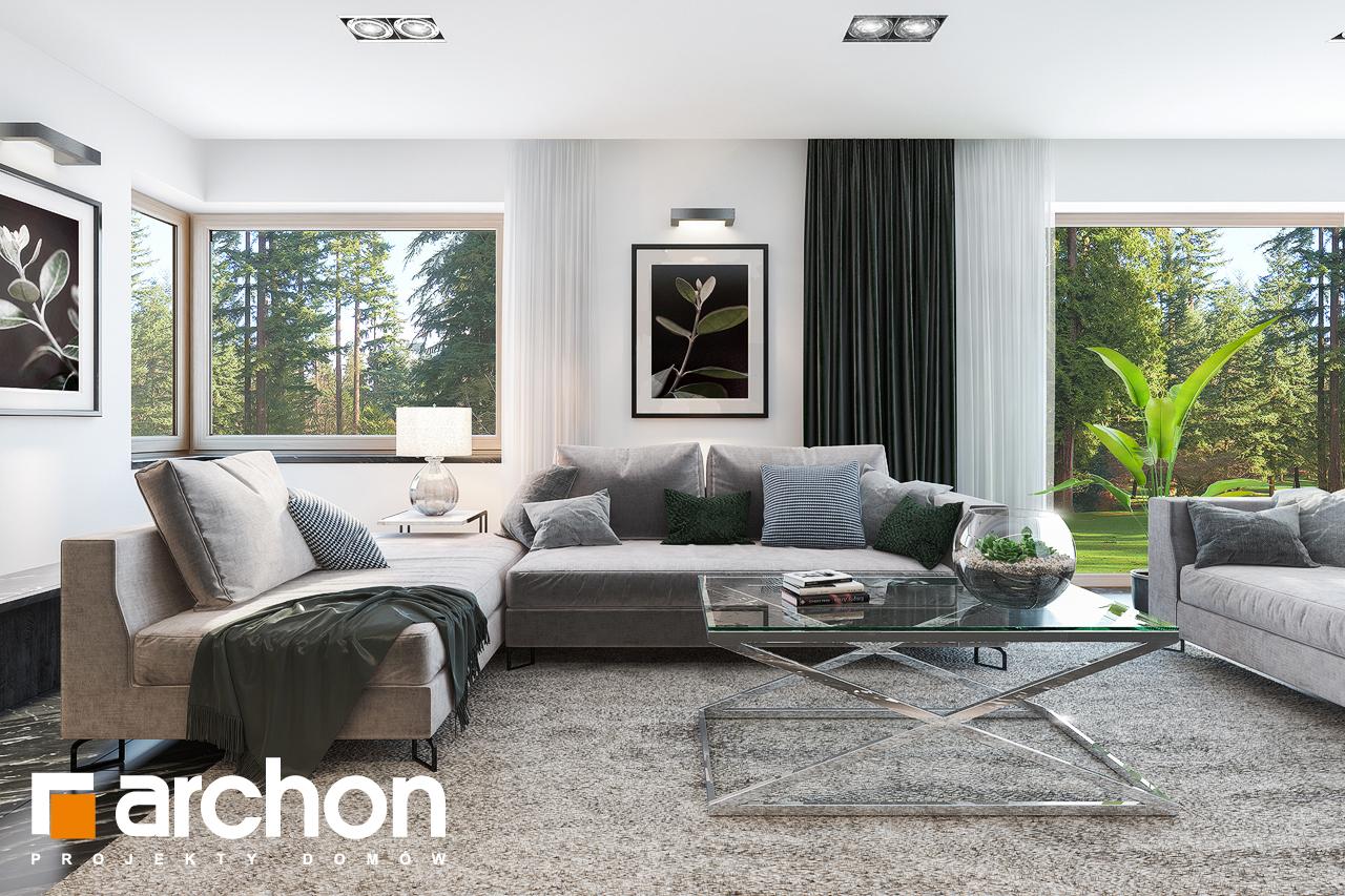 Проект будинку ARCHON+ Вілла Олівія 3 (Г2) денна зона (візуалізація 1 від 2)