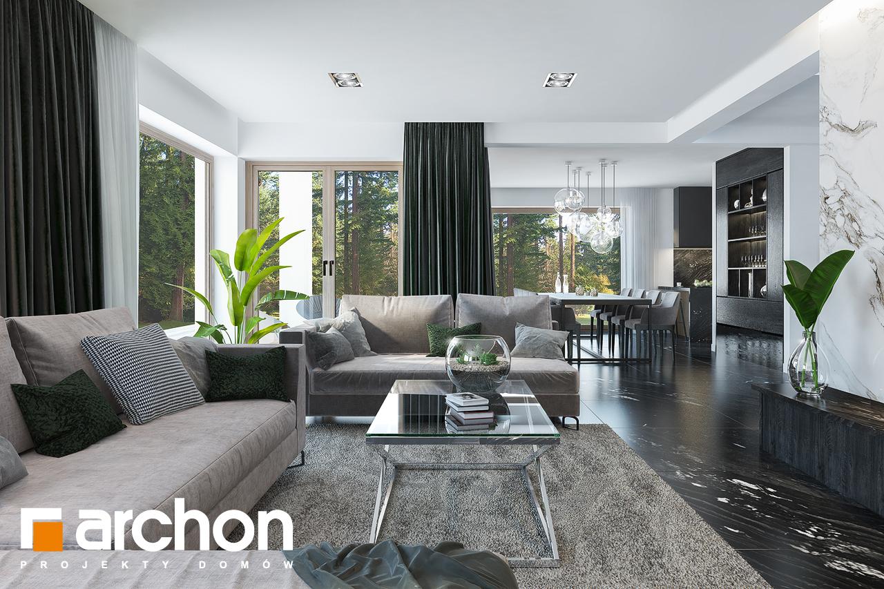 Проект будинку ARCHON+ Вілла Олівія 3 (Г2) денна зона (візуалізація 1 від 3)