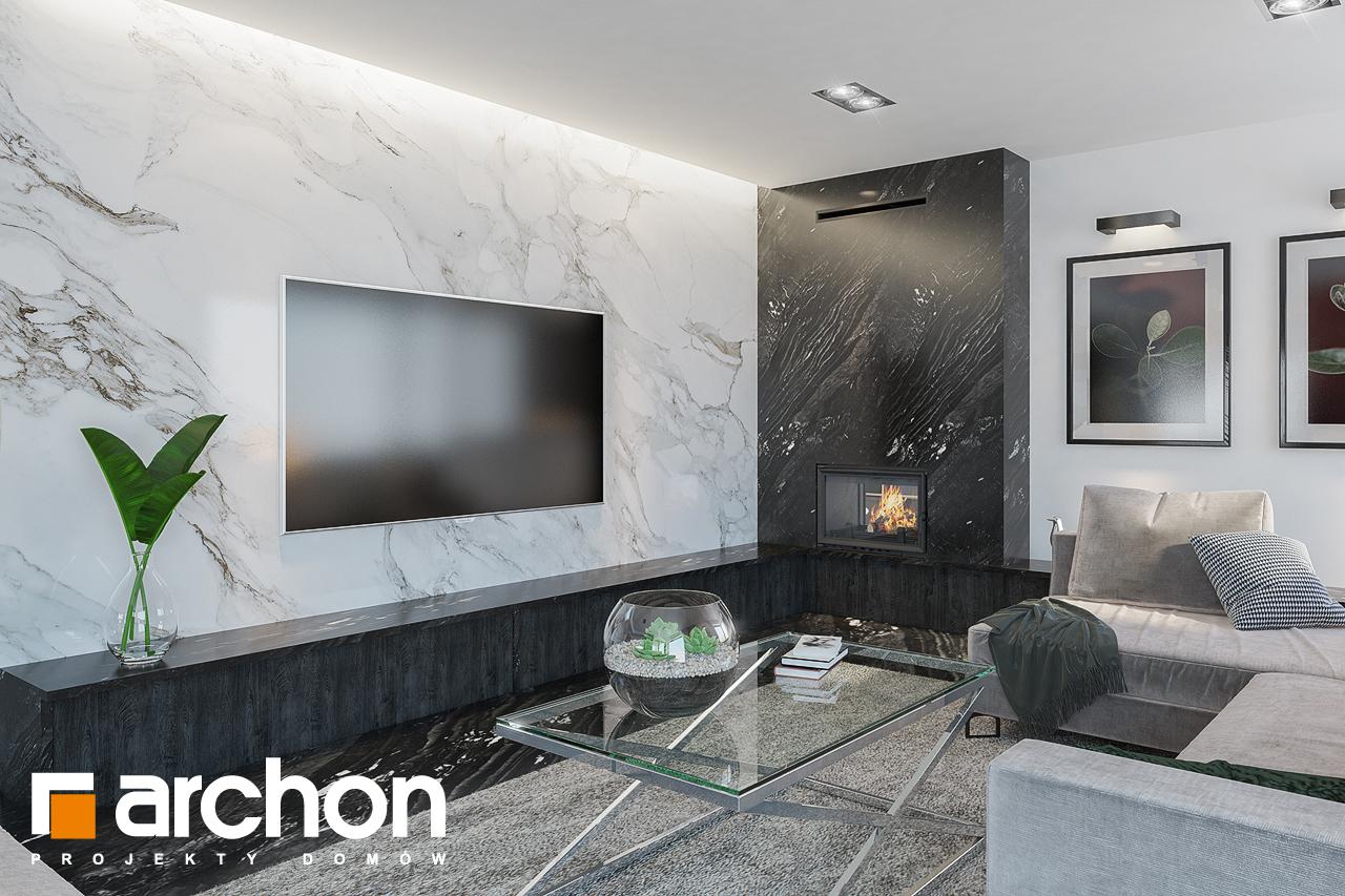 Проект будинку ARCHON+ Вілла Олівія 3 (Г2) денна зона (візуалізація 1 від 4)