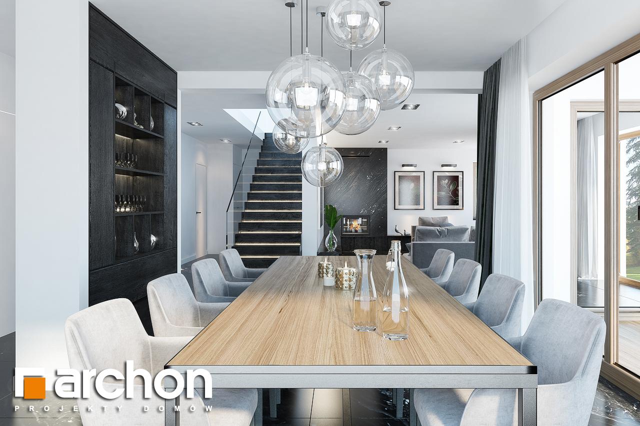 Проект будинку ARCHON+ Вілла Олівія 3 (Г2) денна зона (візуалізація 1 від 5)