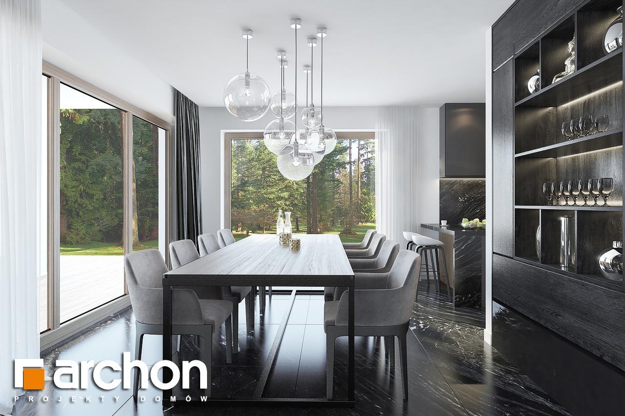 Проект будинку ARCHON+ Вілла Олівія 3 (Г2) денна зона (візуалізація 1 від 6)