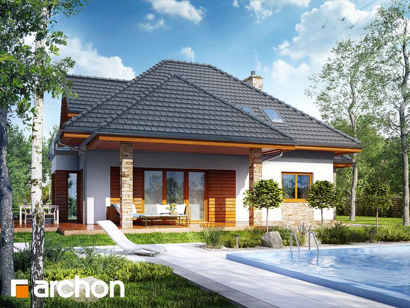 Проект будинку ARCHON+ Будинок під вільхою (Г2) додаткова візуалізація