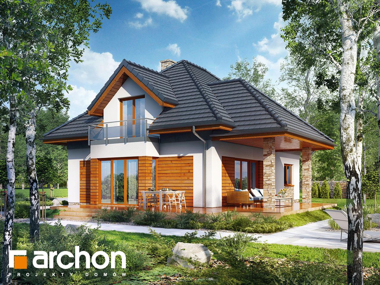 Проект будинку ARCHON+ Будинок під вільхою (Г2) Вид 2