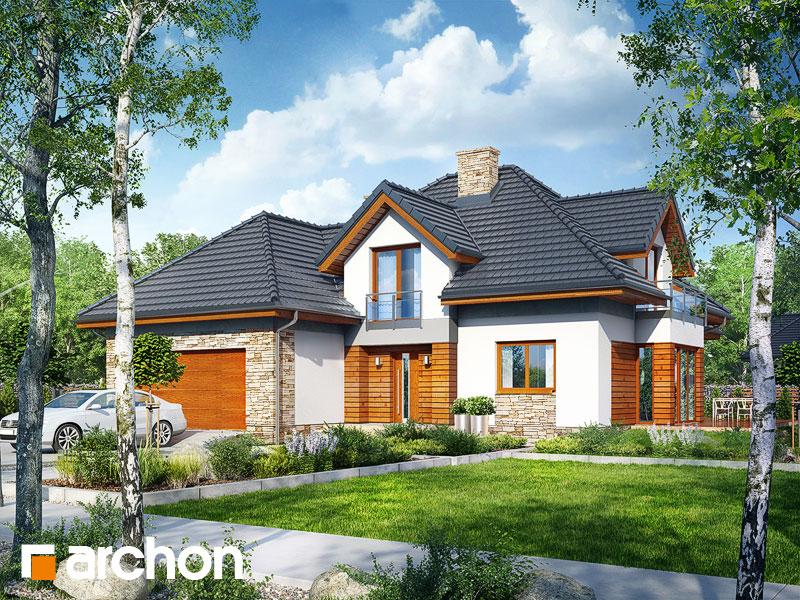 Проект будинку ARCHON+ Будинок під вільхою (Г2) Вид 1