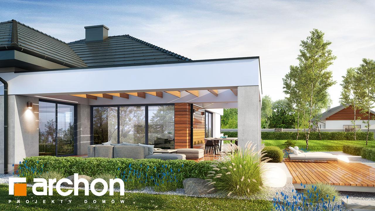Проект будинку ARCHON+ Будинок в нігеллах 2 (Г2) додаткова візуалізація