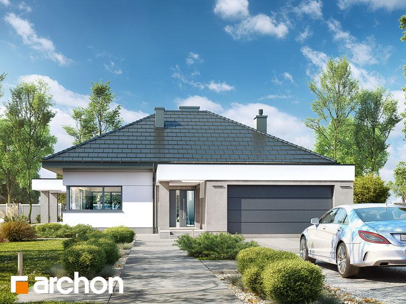 Проект будинку ARCHON+ Будинок в нігеллах 2 (Г2) Вид 1