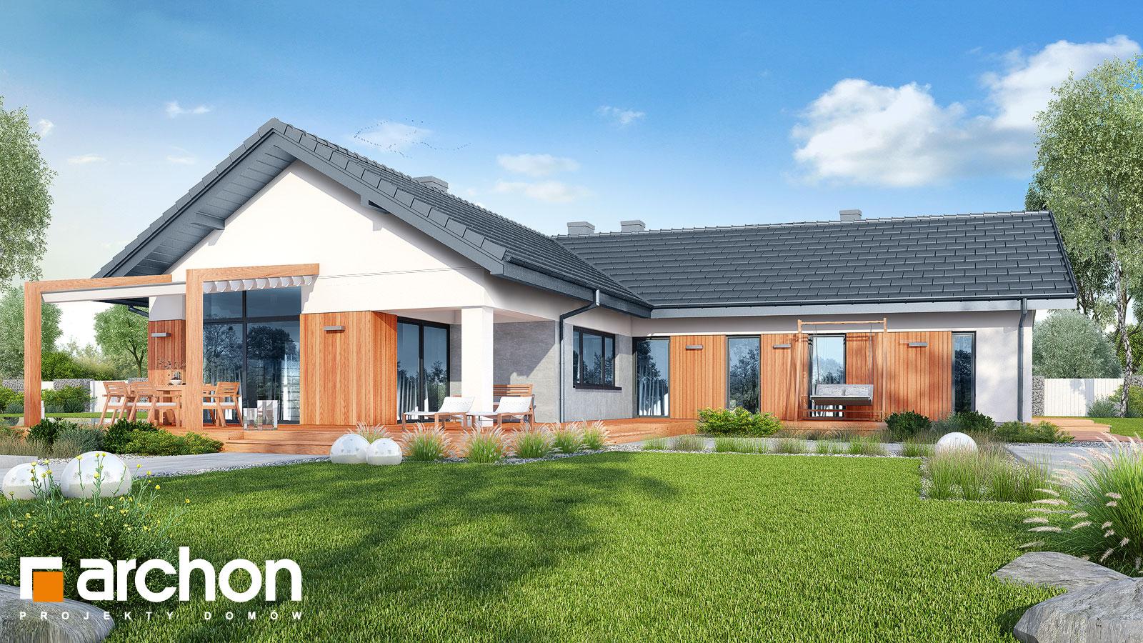 Проект будинку ARCHON+ Будинок в грандаросах (Г2) додаткова візуалізація