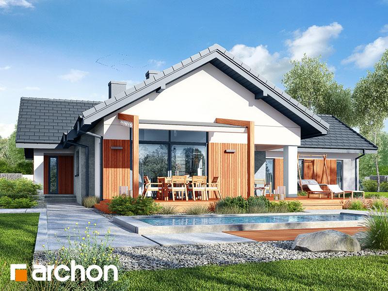 Проект будинку ARCHON+ Будинок в грандаросах (Г2) Вид 1