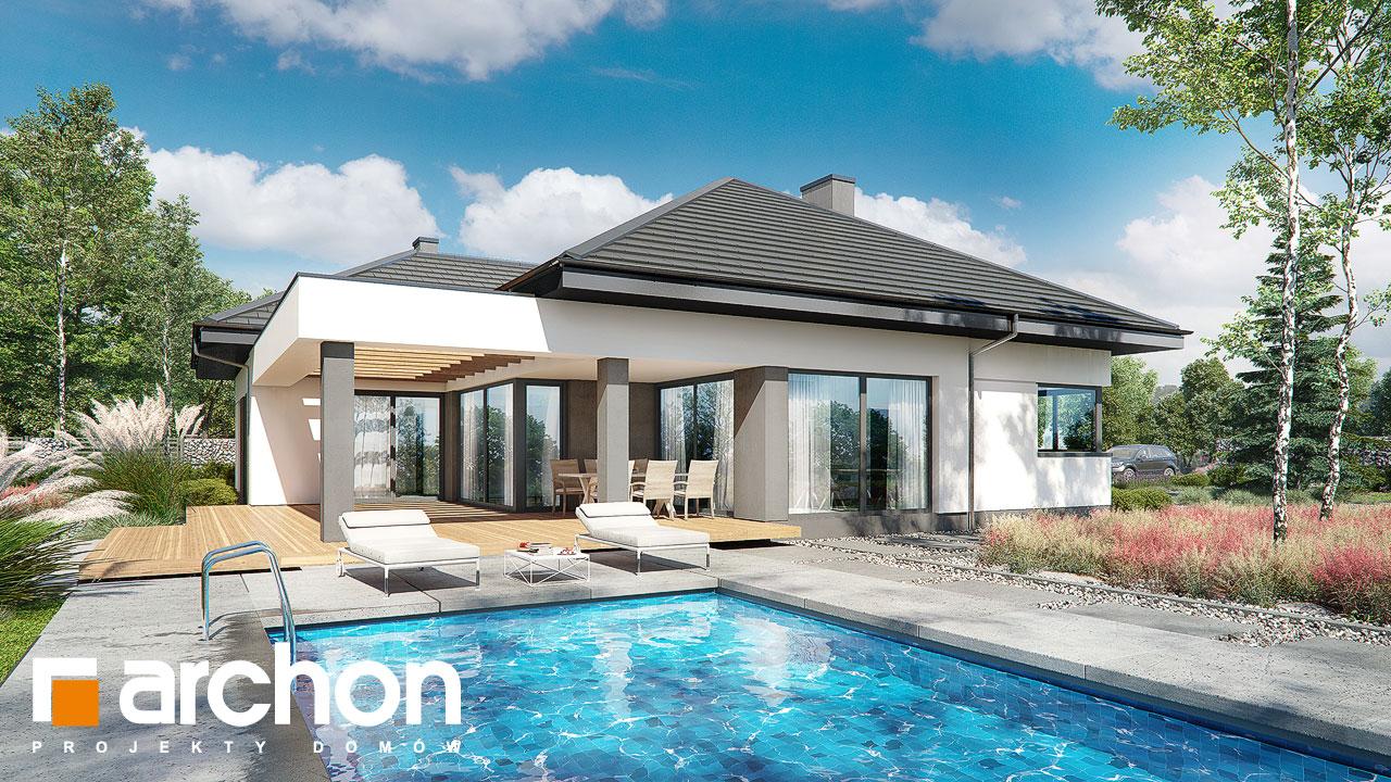 Проект дома ARCHON+ Дом в подснежниках 4 (Г2) додаткова візуалізація