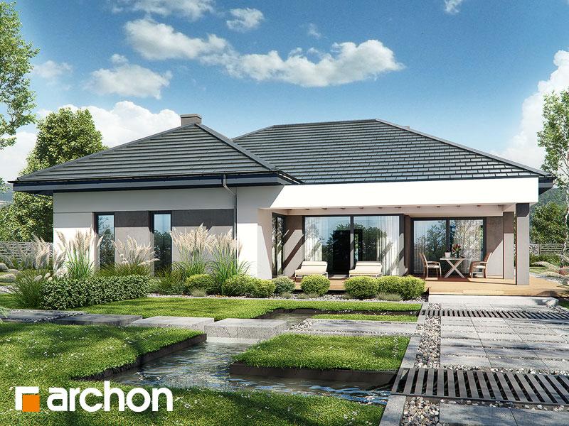 Проект дома ARCHON+ Дом в подснежниках 4 (Г2) Вид 1