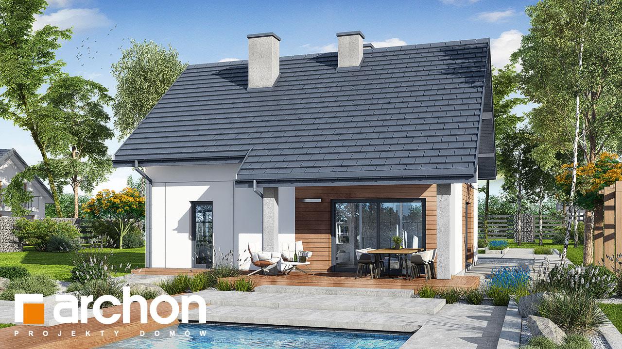 Проект будинку ARCHON+ Будинок в люцерні 8 додаткова візуалізація