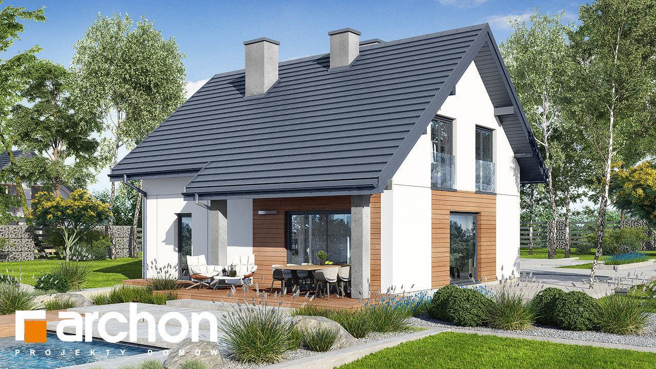 Проект будинку ARCHON+ Будинок в люцерні 8