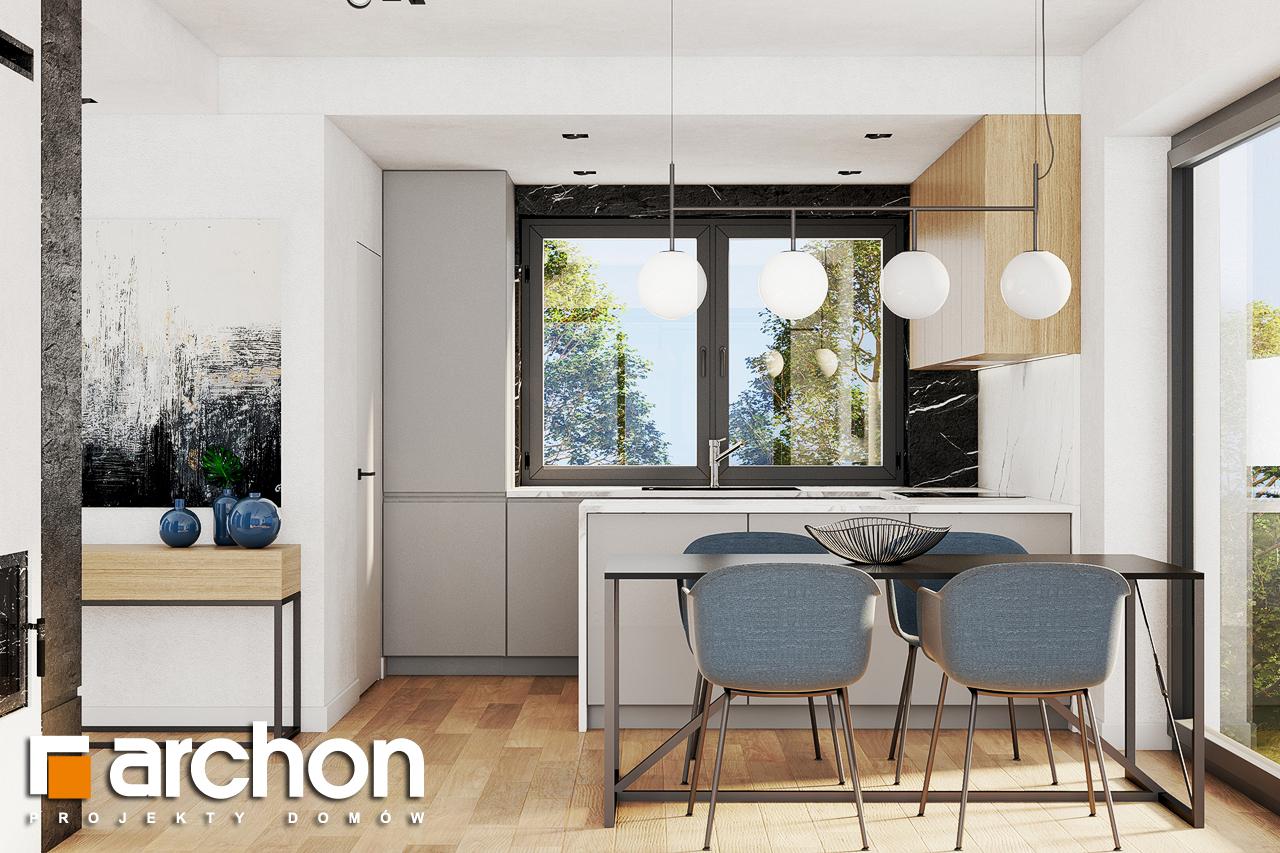 Проект будинку ARCHON+ Будинок в люцерні 8 візуалізація кухні 1 від 1
