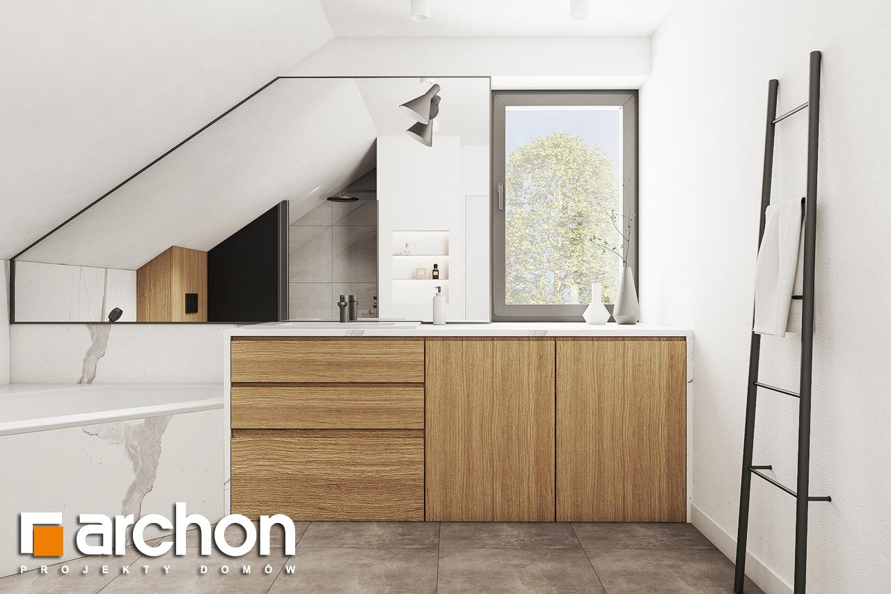 Проект будинку ARCHON+ Будинок в люцерні 8 візуалізація ванни (візуалізація 3 від 1)
