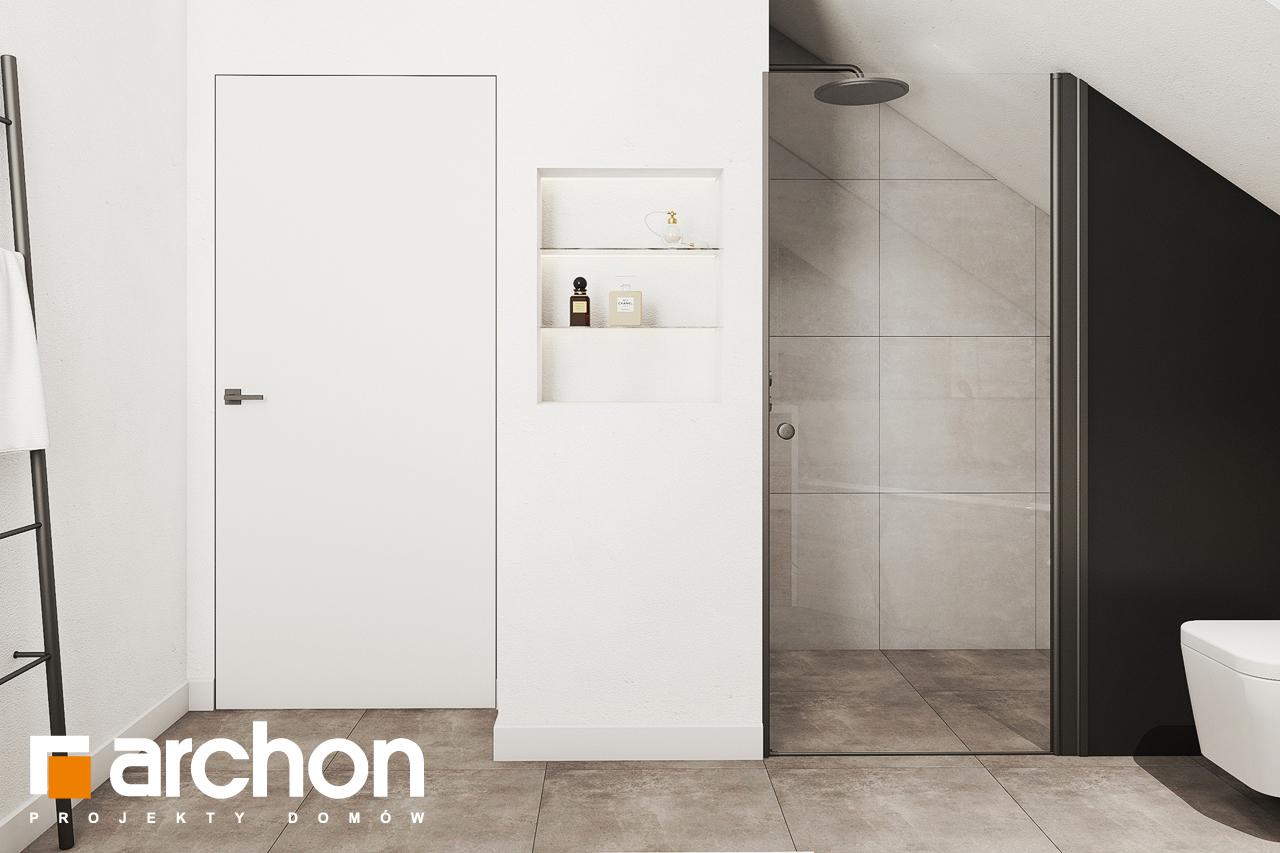Проект будинку ARCHON+ Будинок в люцерні 8 візуалізація ванни (візуалізація 3 від 2)
