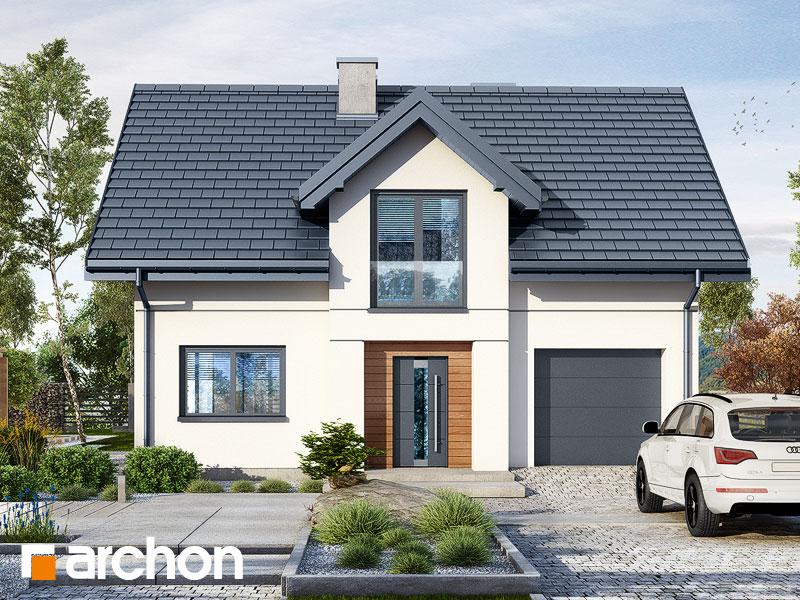 Проект будинку ARCHON+ Будинок в люцерні 8 Вид 1
