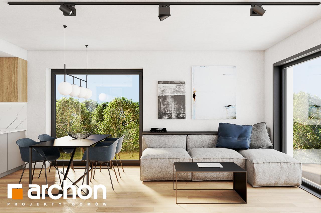 Проект будинку ARCHON+ Будинок в люцерні 8 денна зона (візуалізація 1 від 1)