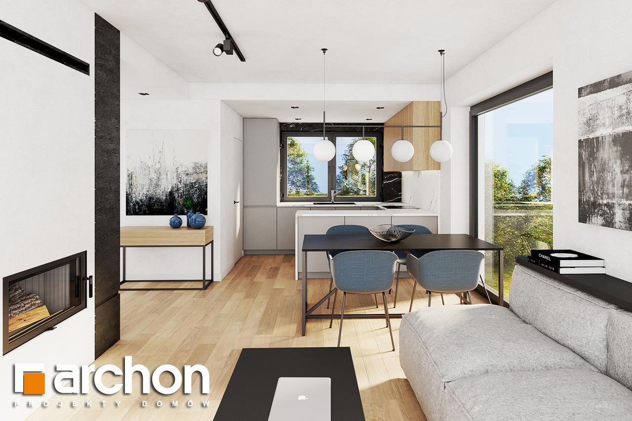 Проект будинку ARCHON+ Будинок в люцерні 8 денна зона (візуалізація 1 від 2)