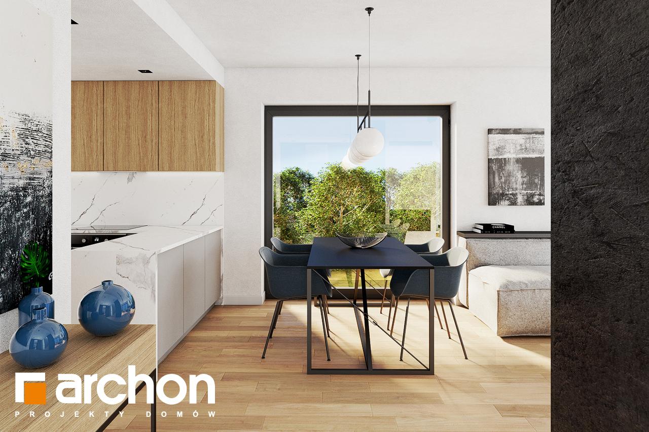 Проект будинку ARCHON+ Будинок в люцерні 8 денна зона (візуалізація 1 від 3)