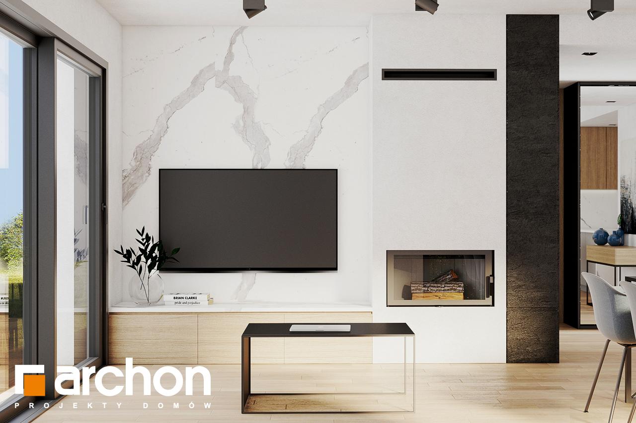 Проект будинку ARCHON+ Будинок в люцерні 8 денна зона (візуалізація 1 від 4)
