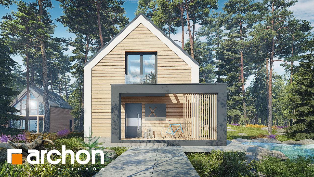 Проект будинку ARCHON+ Будинок в голокупнику (А)
