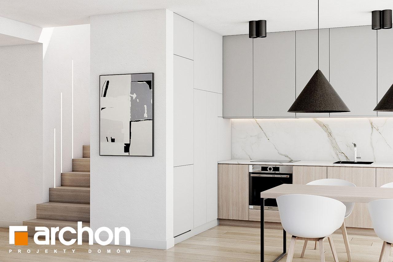 Проект будинку ARCHON+ Будинок в голокупнику (А) візуалізація кухні 1 від 2