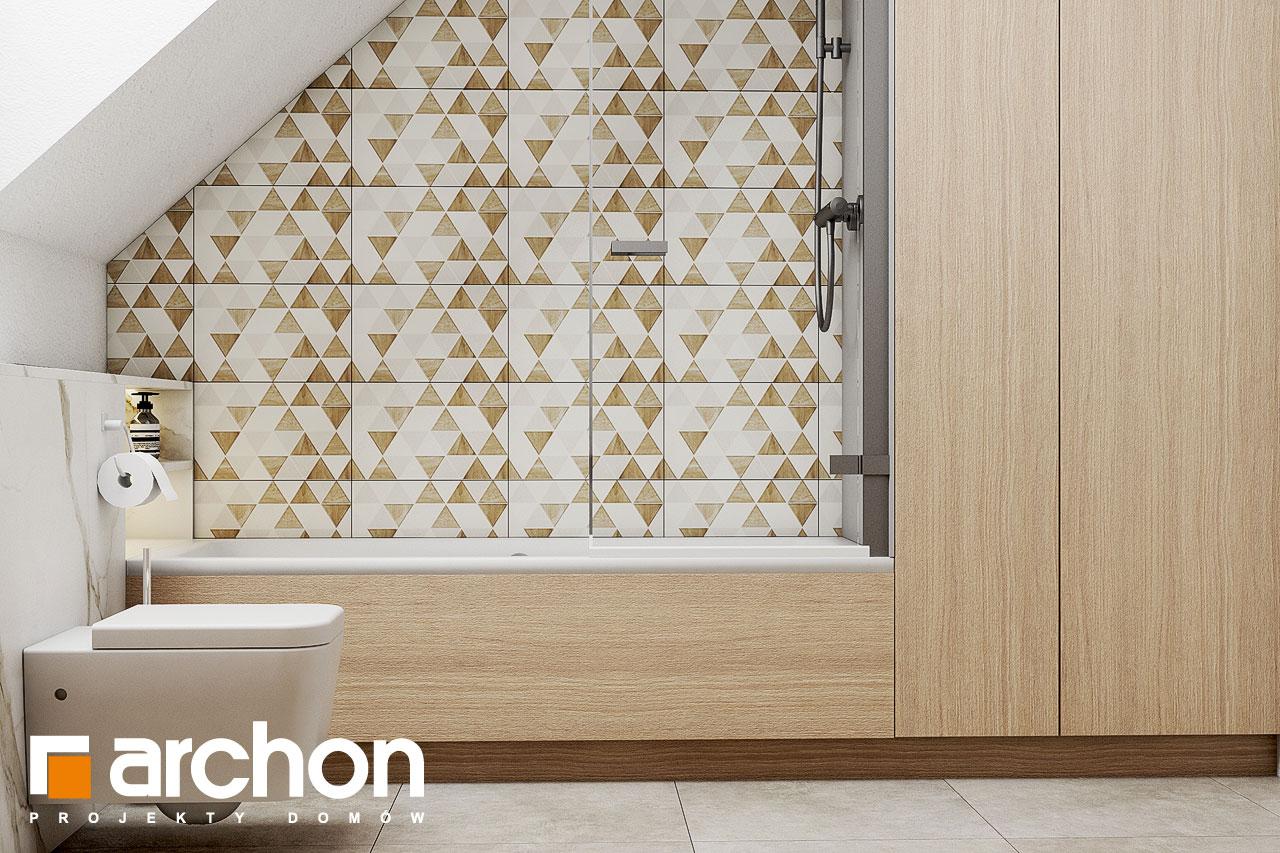 Проект будинку ARCHON+ Будинок в голокупнику (А) візуалізація ванни (візуалізація 3 від 3)