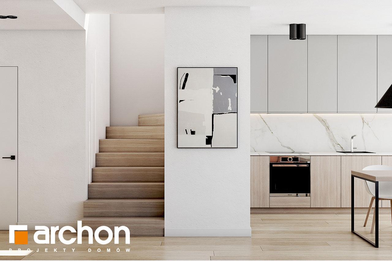 Проект будинку ARCHON+ Будинок в голокупнику (А) денна зона (візуалізація 1 від 6)
