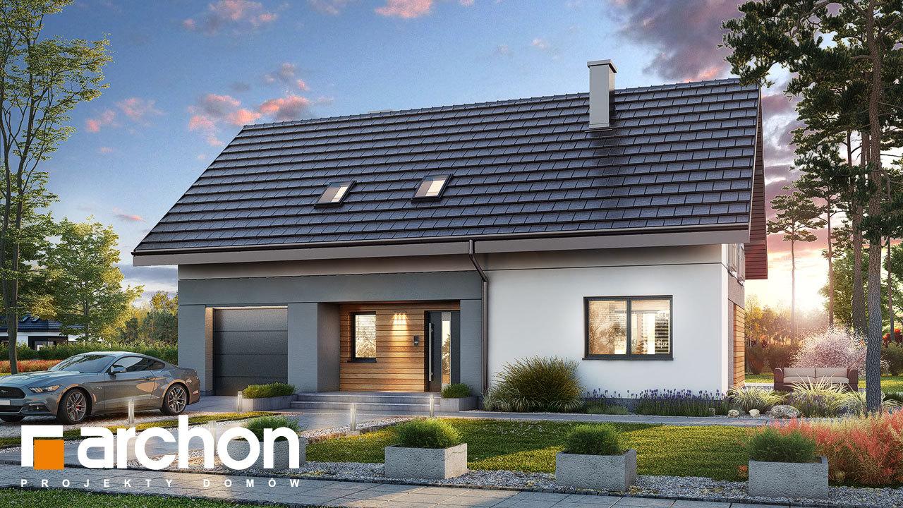 Проект будинку ARCHON+ Будинок в малинівці 11 (ГА)