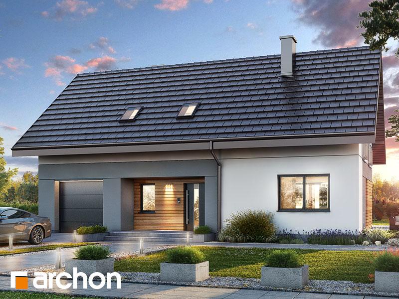 Проект будинку ARCHON+ Будинок в малинівці 11 (ГА) Вид 1