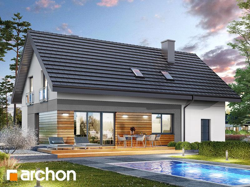 Проект будинку ARCHON+ Будинок в малинівці 11 (ГА) Вид 2