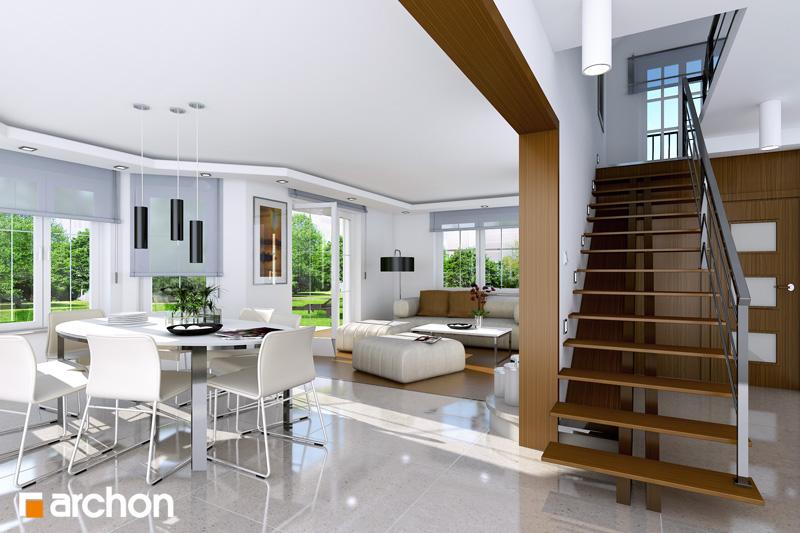 Проект будинку ARCHON+ Будинок в тим'яні 4 денна зона (візуалізація 1 від 1)