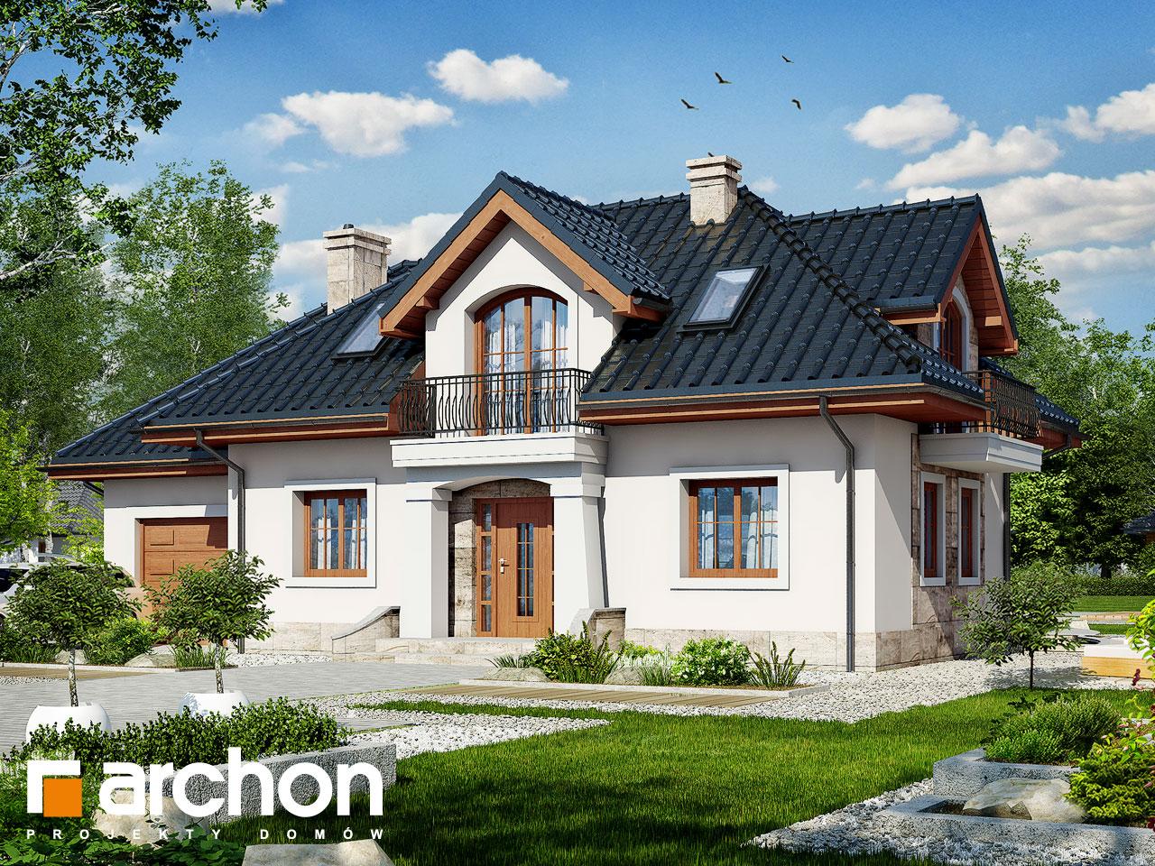 Проект будинку ARCHON+ Будинок в алое 2 Вид 2