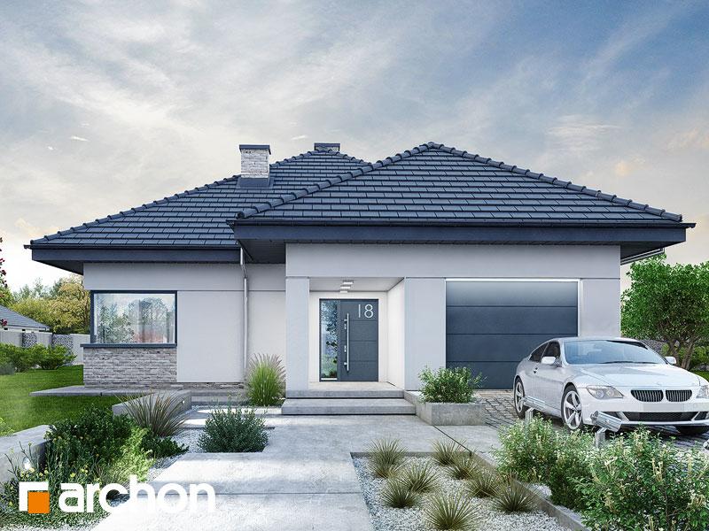 Проект будинку ARCHON+ будинок в ренклоді 2 Вид 1