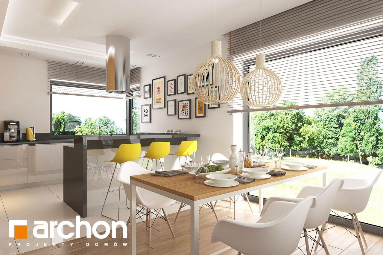 Проект будинку ARCHON+ будинок в ренклоді 2 денна зона (візуалізація 1 від 1)