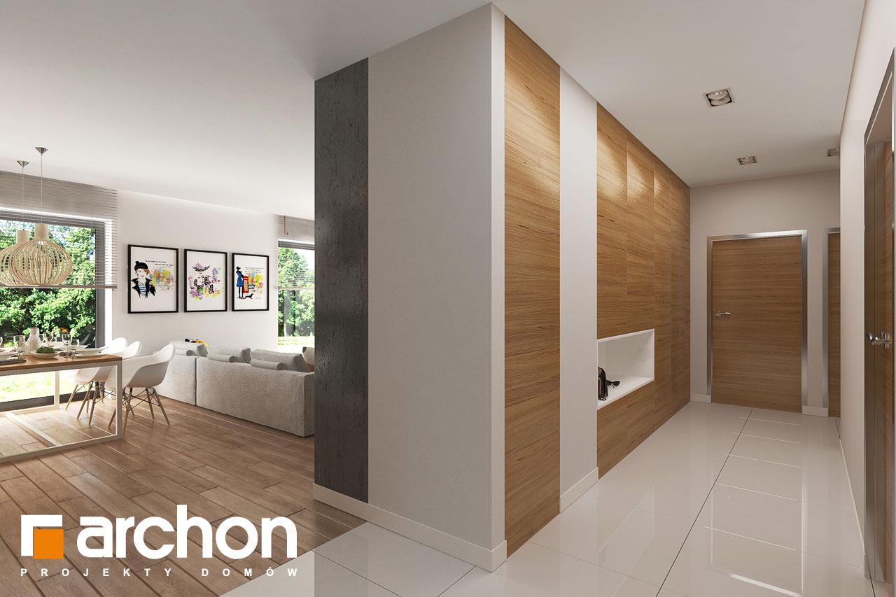 Проект будинку ARCHON+ будинок в ренклоді 2 денна зона (візуалізація 1 від 5)