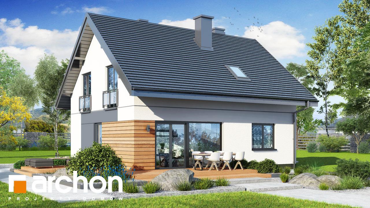 Проект будинку ARCHON+ Будинок в малинівці 11 вер. 2