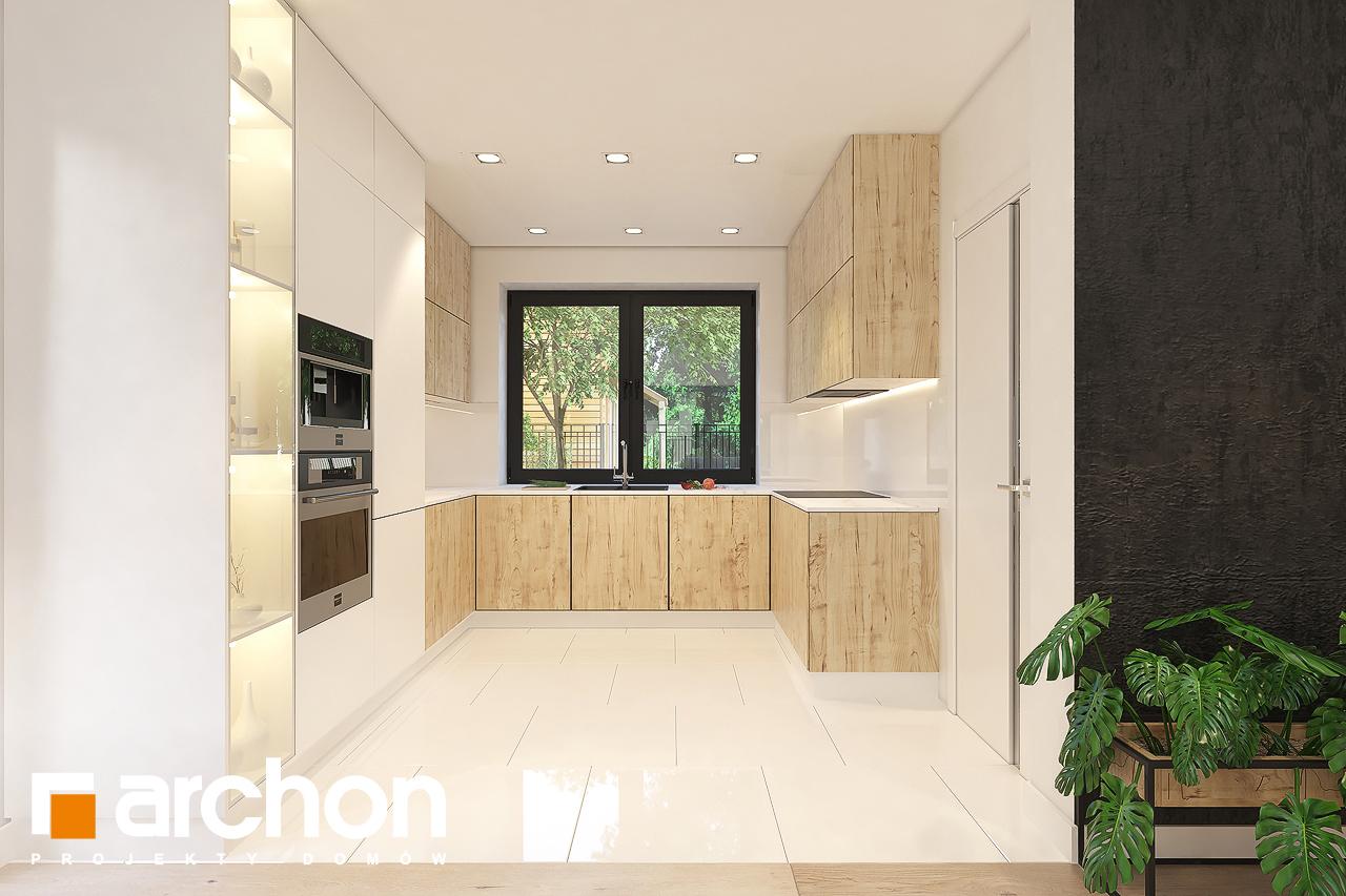 Проект будинку ARCHON+ Будинок в малинівці 11 вер. 2 візуалізація кухні 1 від 1