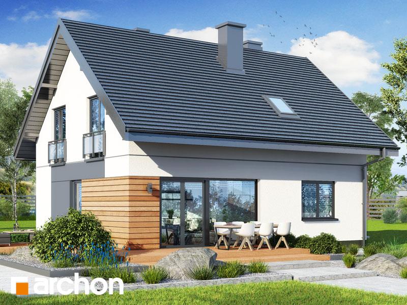 Проект будинку ARCHON+ Будинок в малинівці 11 вер. 2 Вид 2