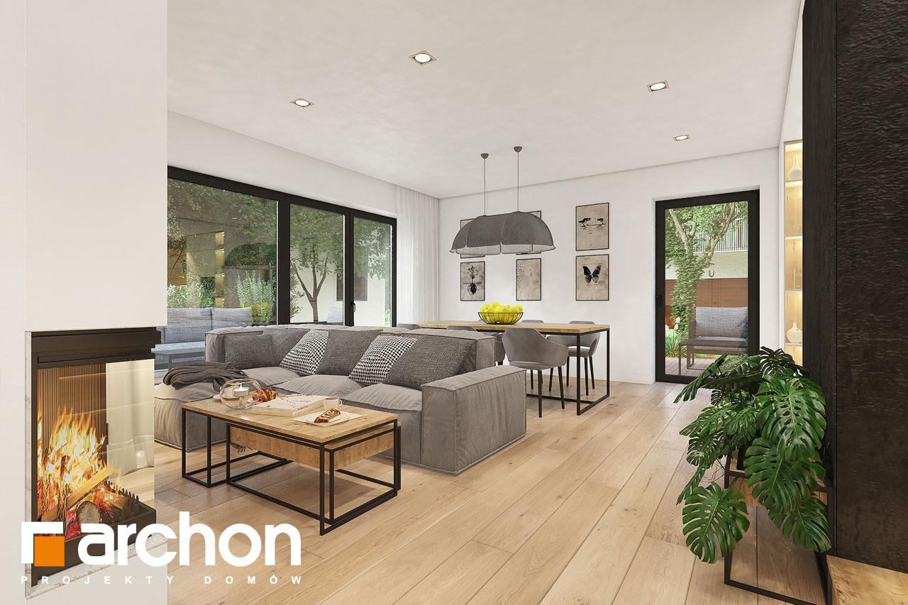 Проект будинку ARCHON+ Будинок в малинівці 11 вер. 2 денна зона (візуалізація 1 від 1)