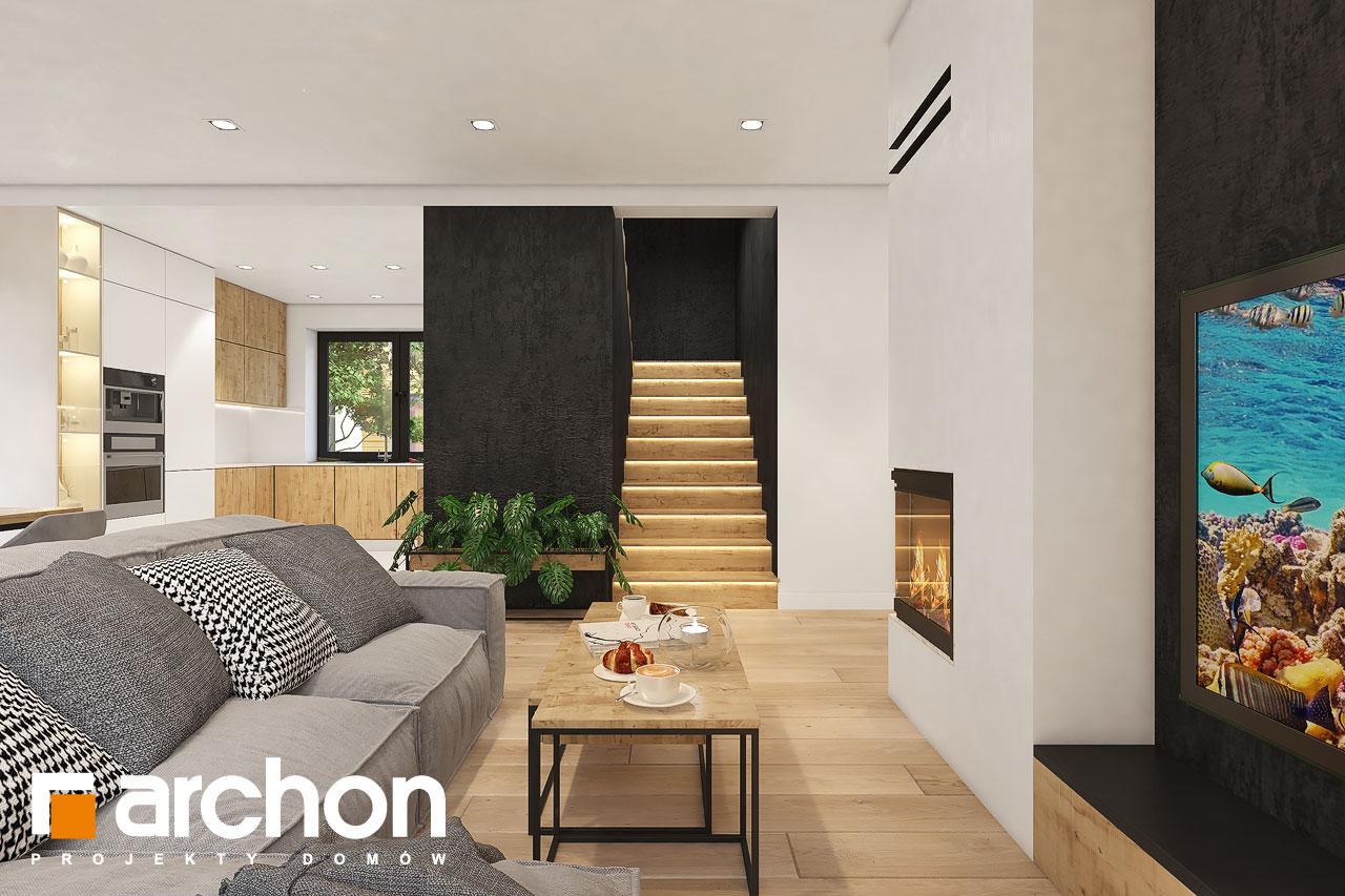 Проект будинку ARCHON+ Будинок в малинівці 11 вер. 2 денна зона (візуалізація 1 від 4)